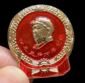 毛主席像章(北京人民印刷厂)