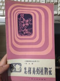 家庭养花小丛书(三)《怎样养好杜鹃花》