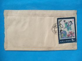 T99牡丹亭(实寄封  1985.4.3上海戳)