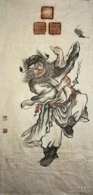 尹玉麟,灵璧尹玉麟钟馗画