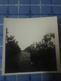五十年代华野女兵于无锡华东艺专拍摄老照片