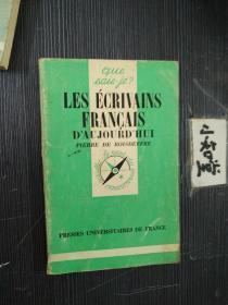 法文原版  les ecrivains francais daujourdhui(1938-1978) 当代法国作家