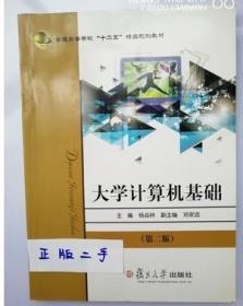 正版二手 大学计算机基础 第二版 杨焱林复旦大学9787309097931