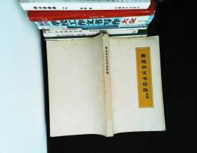 鲁迅杂文书信选(续编)