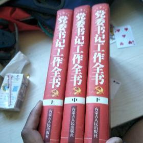 党委书记工作全书  上中下  全三册