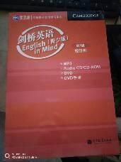 剑桥英语 English  in  Mind(青少版)第1级  视听包(MP3,DVD,Audio CD/CD-ROM,DVD手册)