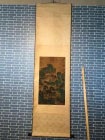 李成(919-967),五代宋初畫家,字咸熙,原籍長安(陜西西安),先世系唐宗室。擅畫山水,師承荊浩