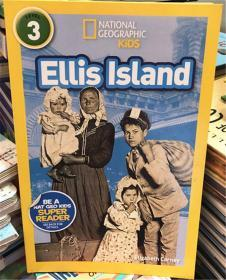 平装 National Geographic Readers: Ellis Island 3 国家地理读者:埃利斯岛