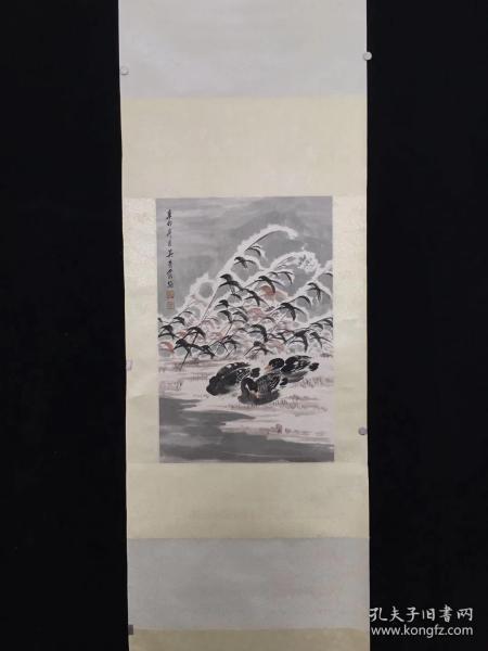 吳青霞手繪雪景!吳青霞(1910-2008),女,學名吳德舒,號龍城女史。江蘇蘇州人,為江南收藏家!