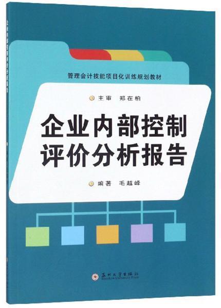 企业内部控制评价分析报告/管理会计技能项目化训练规划教材