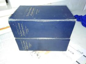 THe Norton Anthology of English Literature(诺顿英国文学诗文选)第一卷 第二卷