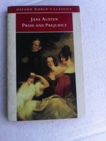 Pride  And   Prejudice      (Oxford World's Classics)         傲慢与偏见     英文原版        牛津版世界名著