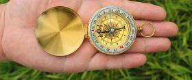 黄铜铜器摆件直径5厘米