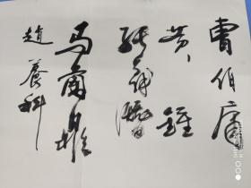 保真陕西书画名家毛笔签名册(张义潜,曹伯庸,石宪章,杜中信,王保安等)。。