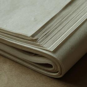 玉竹宣 富阳 传统手工纯竹浆纸 元书纸 书法日课纸
