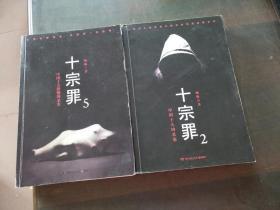中国十大凶杀案--十宗罪(2.5共两册合售)
