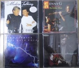 MODERN TALKING DIRE STRAITS KENNY G ERIC CLAPTON  首版 旧版 港版 原版 绝版 CD