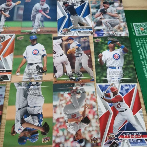 美国棒球卡94张合售