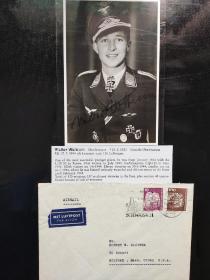 二战德最强JG52联队王牌飞行员成员,骑士铁十字勋章获得者