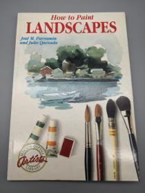 【英文原版】How To Paint Landscapes
