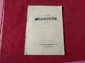 天津市城市规划保存资料目录(封面右上角带签名:王作琨)