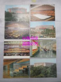 首都体育馆 明信片:共8张——文革时期