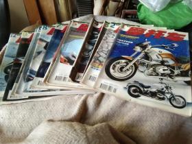 摩托车  杂志 2001年1--11期