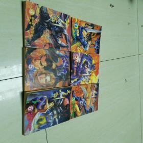 大剑师 漫画1-6册  64开
