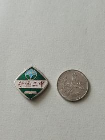 早期纪念章胸牌--湖南宁远二中