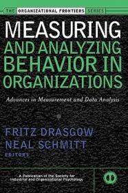 【预售】Measuring And Analyzing Behavior In Organizations: