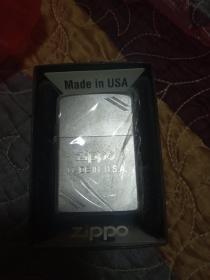 zippo经典标志双切角