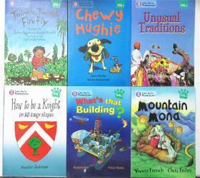 平装 6册 collins big cat reading lions phonics level 3  科林斯大猫阅读狮子 3级