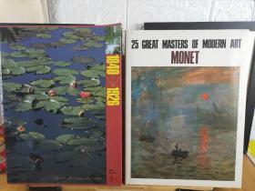 克劳德·莫奈(Claude Monet,1840年11月14日-1926年12月5日),法国画家,印象派代表人物和创始人之一。函盒精装,大开本,纵32Cm横23.5cm  书前部是作品集,后部是画家生涯及所绘画与实景的对比。