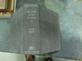 1937年  The Little OXFORD DICTIONARY 上海龍門聯合書局