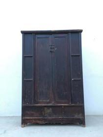 清代 開光老書柜  完整 可以正常使用尺寸128*59*130厘米高