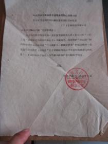 文革資料:中共濟南市糧食局革命委員會核心小組 關于對蘇金海的報告的批復