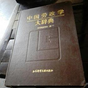 中国劳改学大辞典