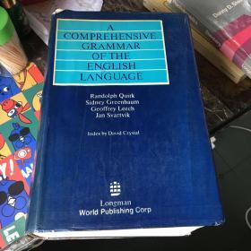 A Comprehensive Grammar of the English Language (英语语法大全 英文版 巨厚)