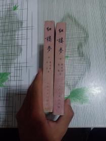 中国古典文学读本丛书:红楼梦(上中)上书皮被撕了