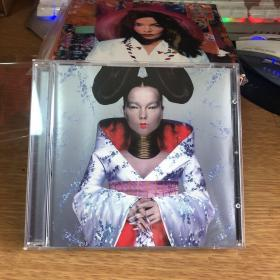 原版CD bjork homogenic 德首银圈