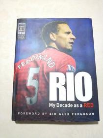 RIO My Decade as a RED (签名本)