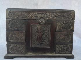 红酸枝木梳妆箱