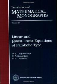 Linear And Quasilinear Equations Of Parabolic Type