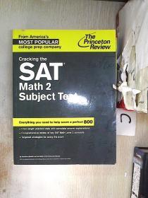 Cracking the SAT Math 2 Subject Test 破解SAT数学2科目考试(966)(书脊破损)