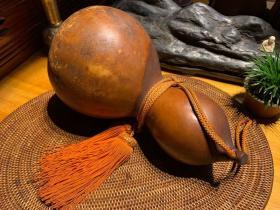 日本老貨,大個,清代老葫蘆