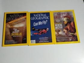 NATIONAL GEOGRAPHIC 2011 3册合售(品相见图)