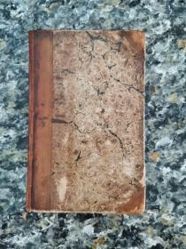 《The History of Rasselas, Prince of Abbysinia》英国原版希见私藏 1818年出版原皮装帧 约翰逊博士经典作品 可读可藏