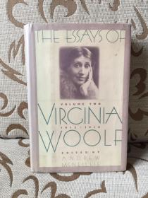 The essays of Virginia Woolf volume two 1912-1918 -- 《伍尔夫散文集之卷二》美版 1987年一版一印 馆藏本