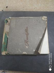 民国时期哥伦比亚黑胶唱片十张一册(品相很好)