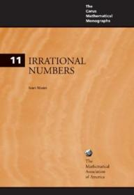 Irrational Numbers (carus Mathematical Monographs)